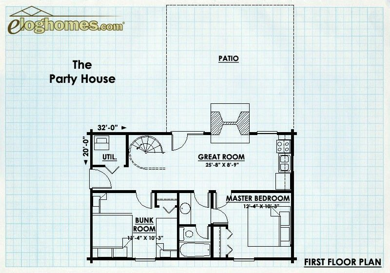 Eloghomes Party House House Party Floor Plans House