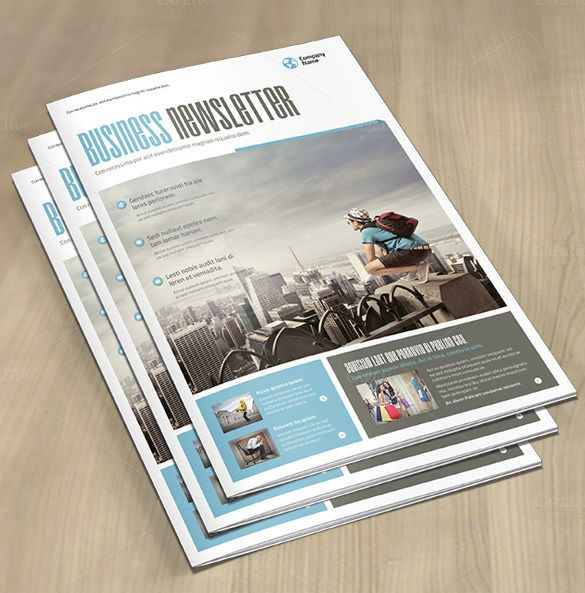 Business Newsletter Template u2013 9+ Free PSD, EPS, Indesign, PDF - free business newsletter templates