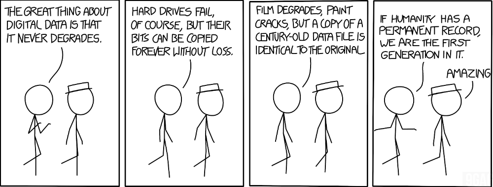 Xkcd 1683 Digital Data Xkcd Digital Data Tech Humor Data