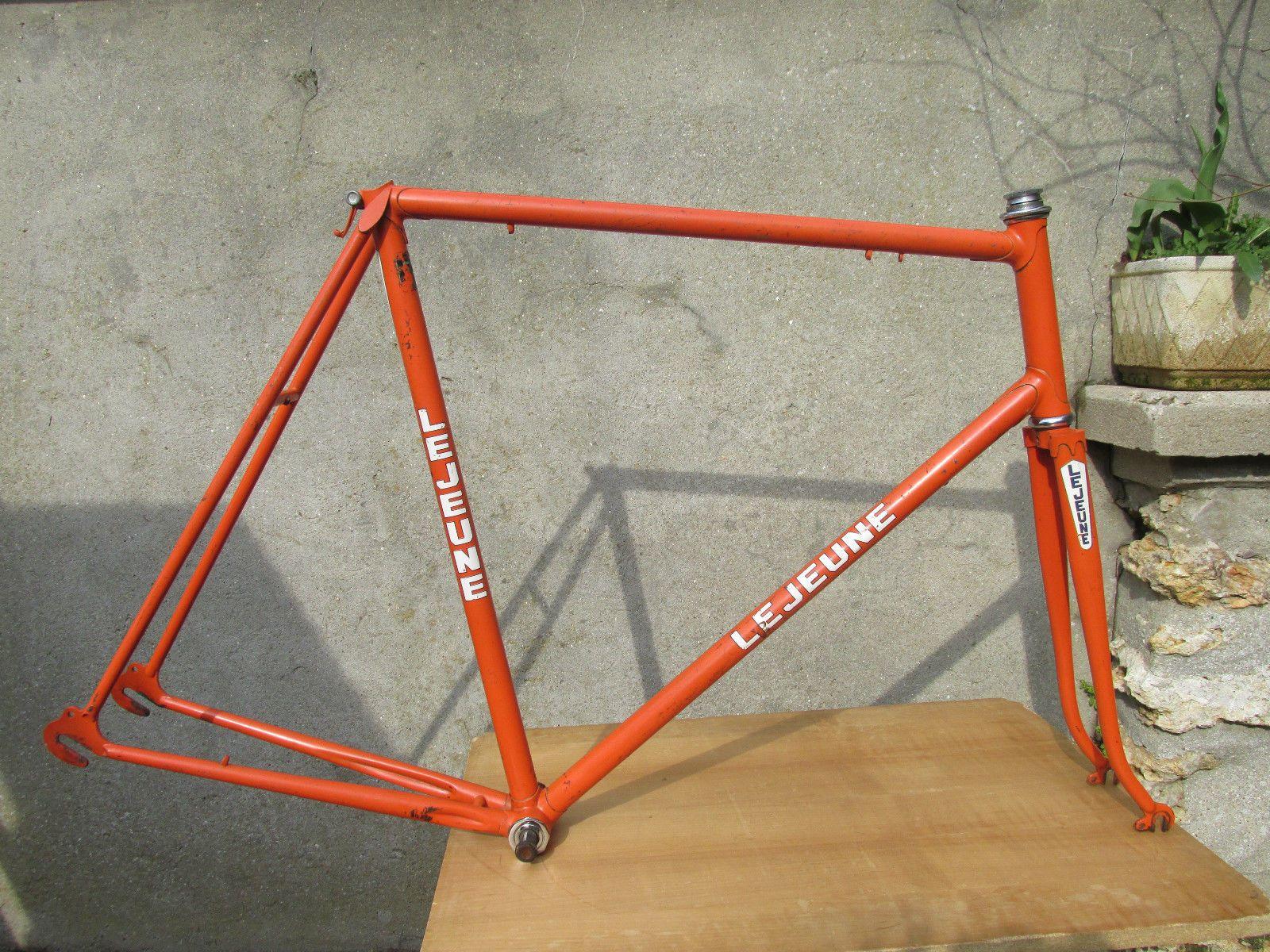 69b45f533ed Lejeune Reynolds 531 Vintage Cadre Velo Course Road Racing Bicycle Frame 60    eBay