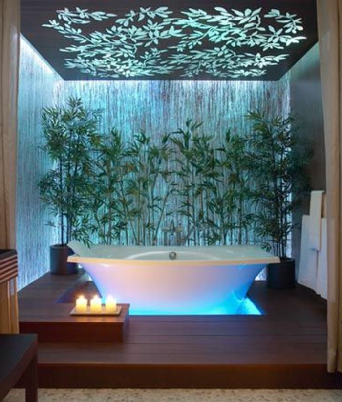 Comment aménager la salle de bain exotique - 40 idées. | deco ...