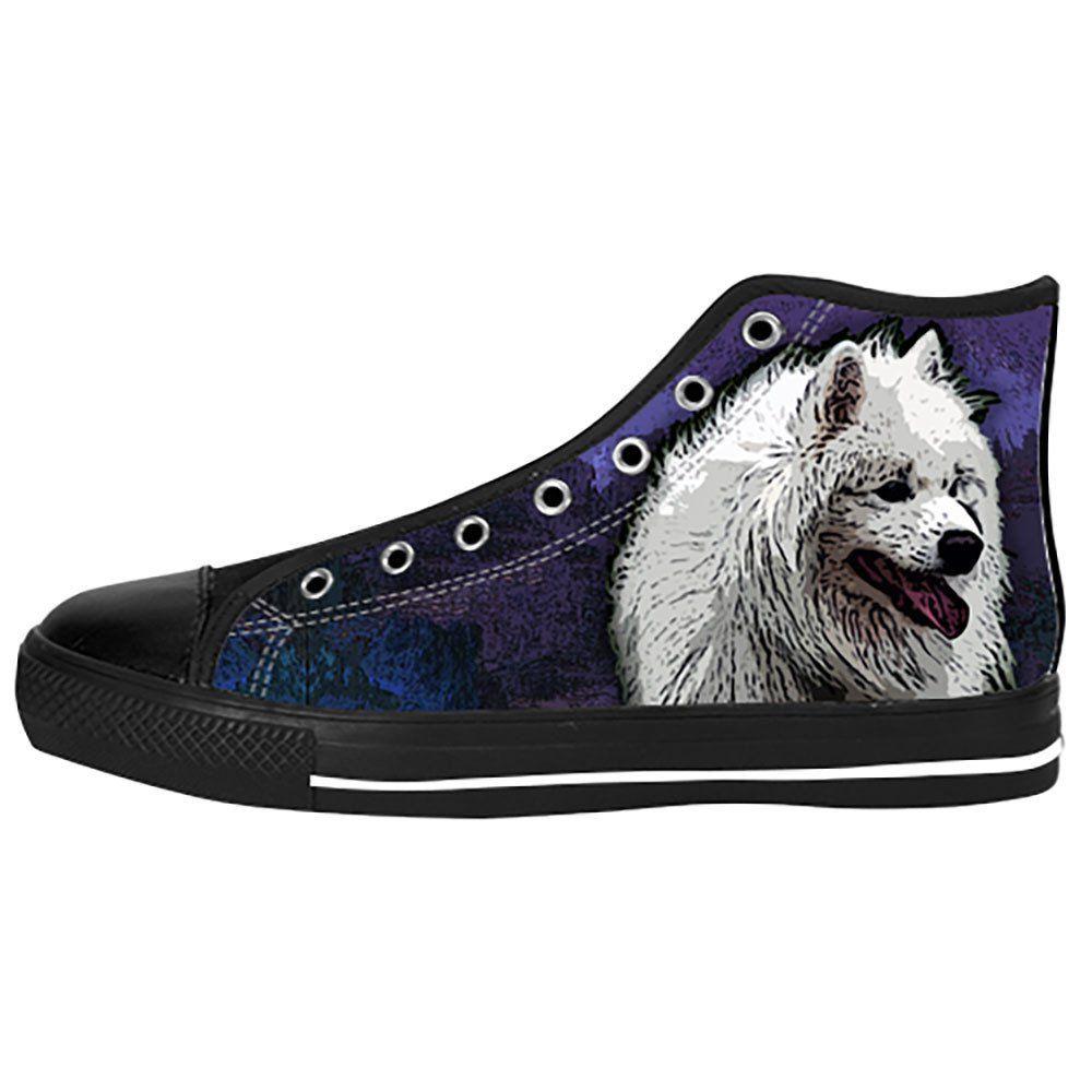 Samoyed Shoes & Sneakers - Custom Samoyed Canvas Shoes