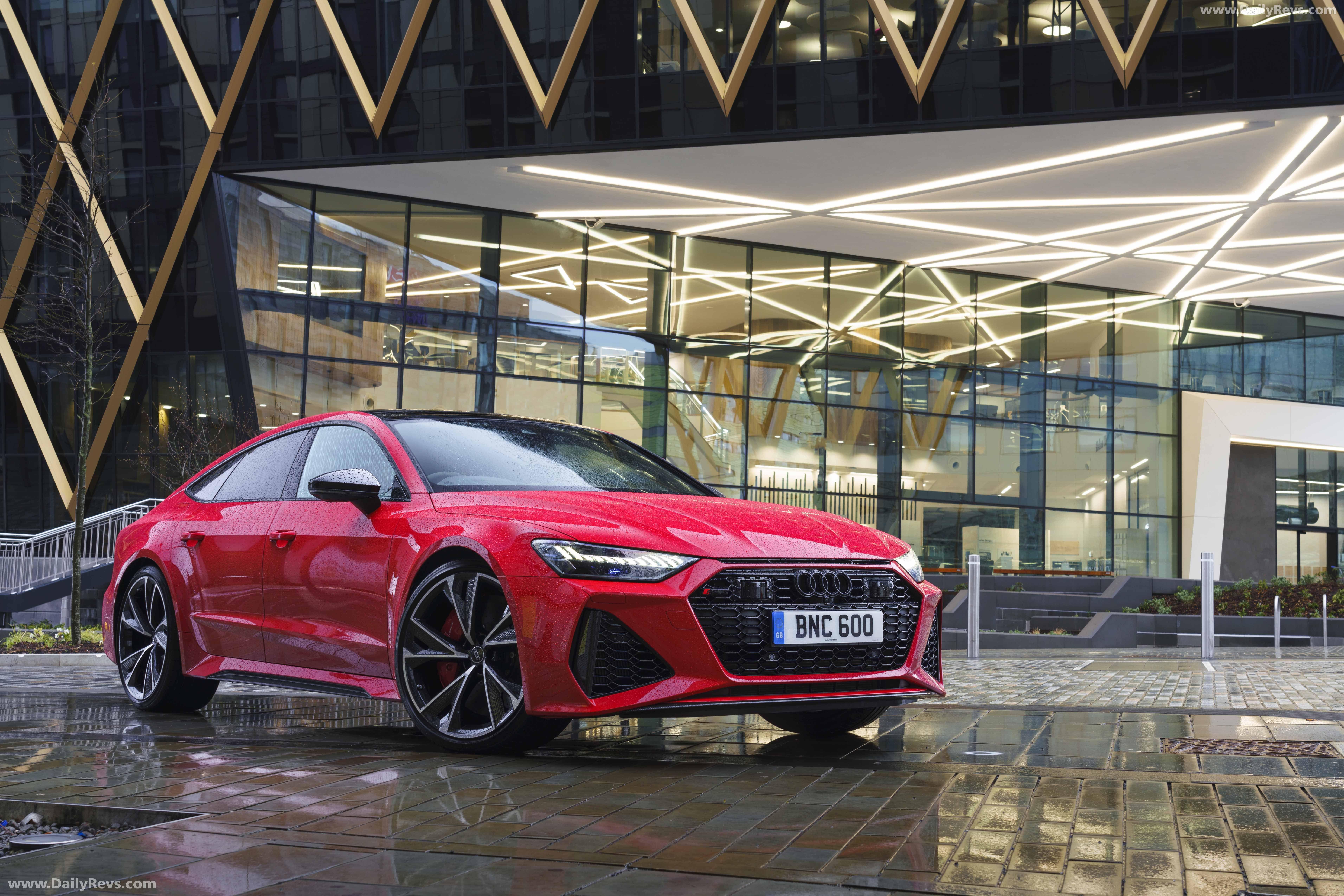 2020 Audi Rs 7 Sportback Uk Hd Pictures Videos Specs Information Em 2020 Carros