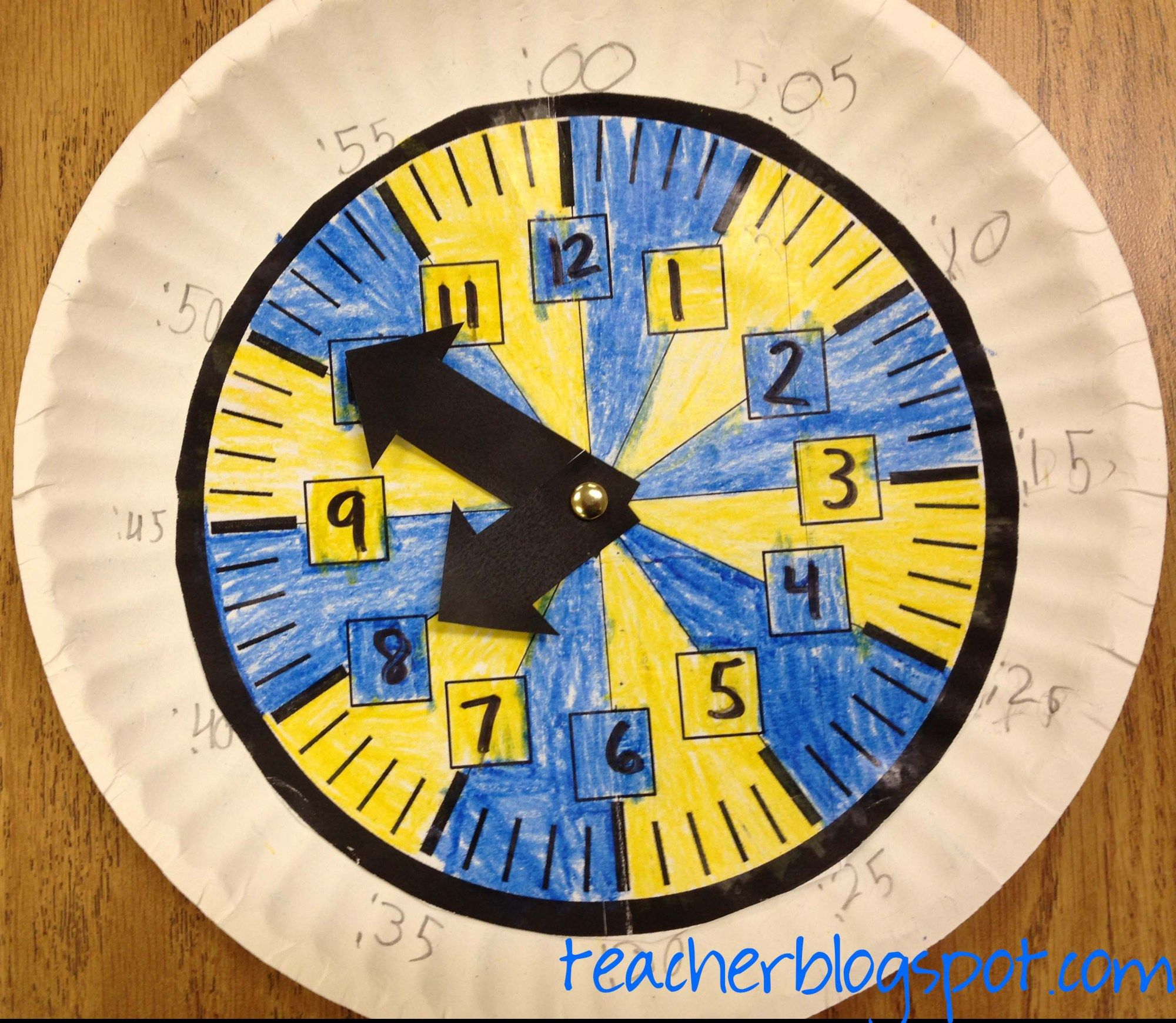 When Students Learn About Time On Anog Clock I Can