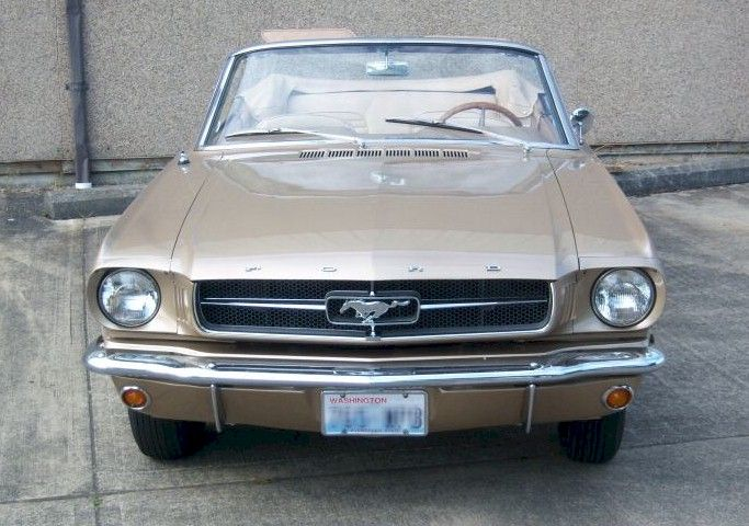 Chantilly Beige 1964 Ford Mustang Paint Cross Reference