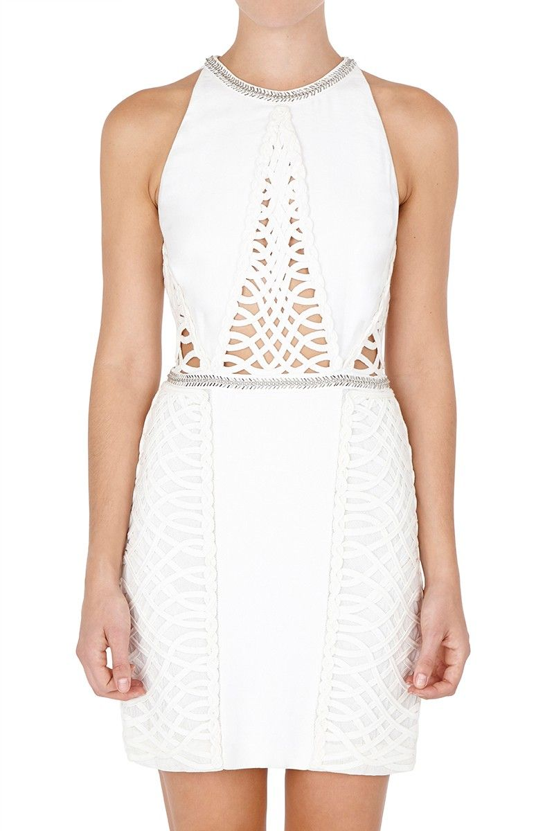 Sass and bide white noise dresses