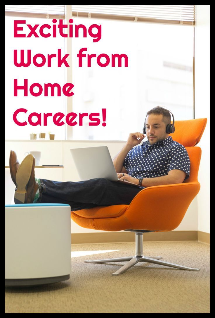 Check out these really cool work from home careers!