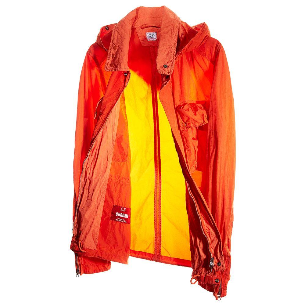 CHROME High Density Nylon Multipocket Goggle Jacket in Orange