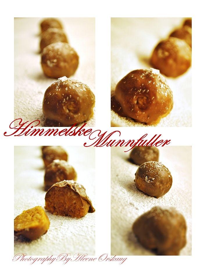 Her er en Julekonfekt som har blitt en tradisjon å lage. Samtlige medlemmer av husstanden elsker denne herlieg sjokoladekonfekten.Den  sma...