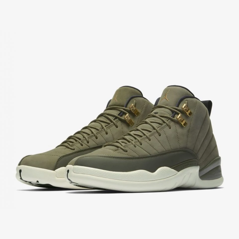 Nike Air Jordan 12 Retro OLIVE CANVAS