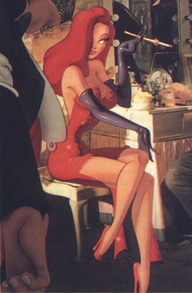 Who Framed Roger Rabbit Jessica Rabbit Controversy