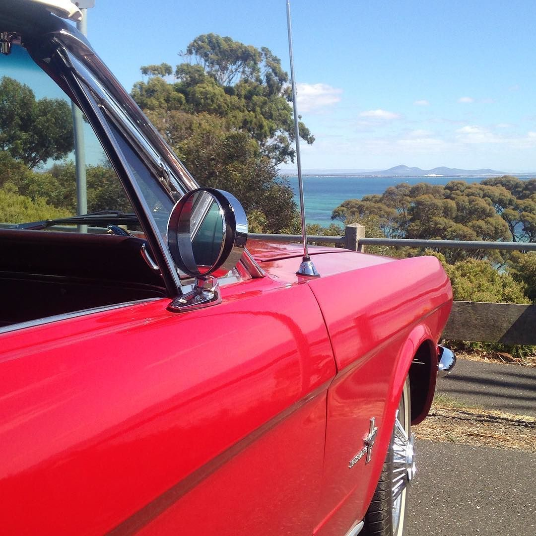 Loving Summer days this was taken at Clifton Springs looking back at You Yangs. #classiccars #ourgeelongbellarine #geelong #cliftonsprings #weddingcarsgeelong #limousine #1966mustang #winerytour #bellarinepeninsula #bellarinewedding #livelovegeelong #gtlife #gtmagazine #gsclmagazine by mustangandco http://ift.tt/1JO3Y6G