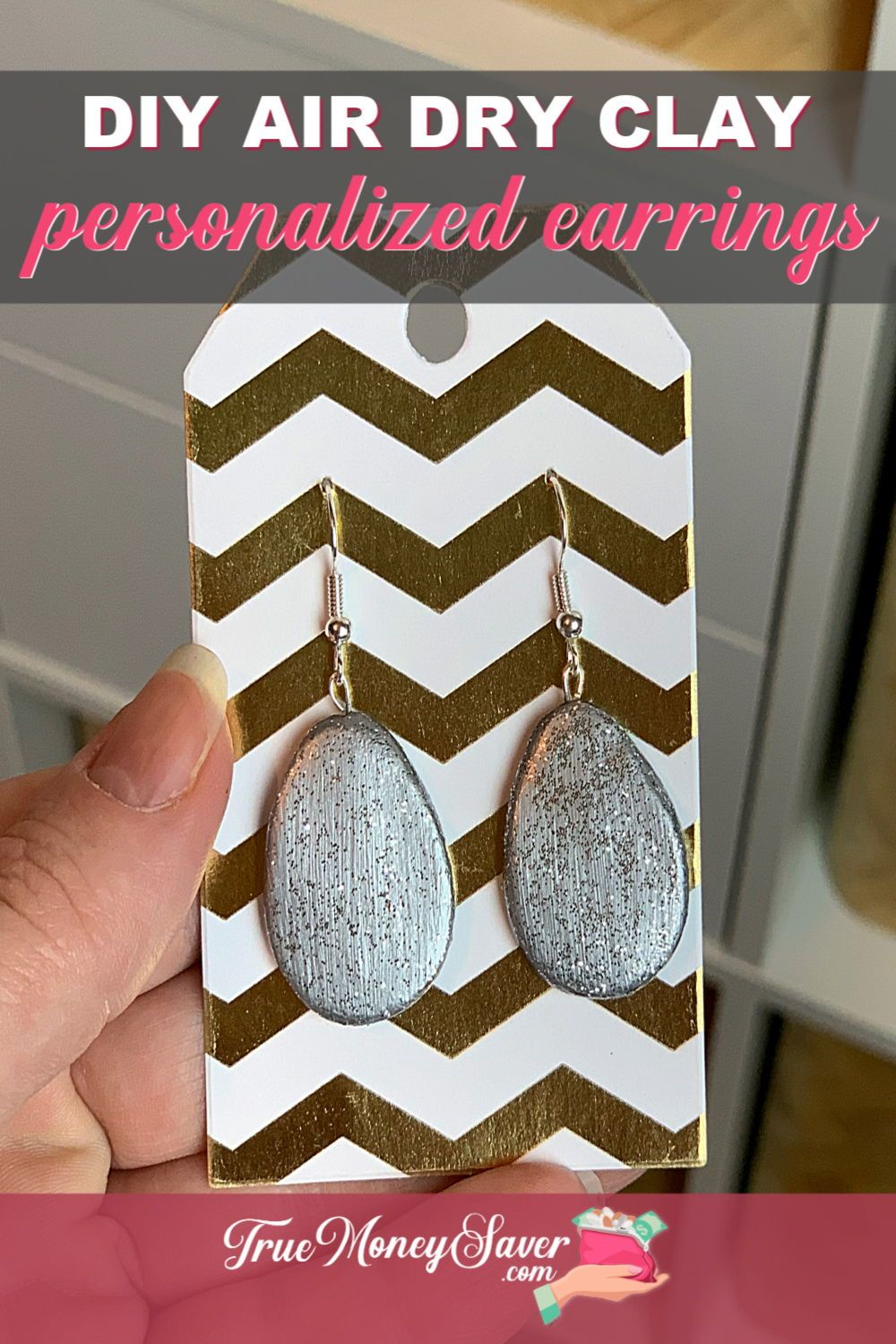 How To Make Earrings Easily From Air Dry Clay How To Make Earrings Diy Air Dry Clay Air Dry Clay
