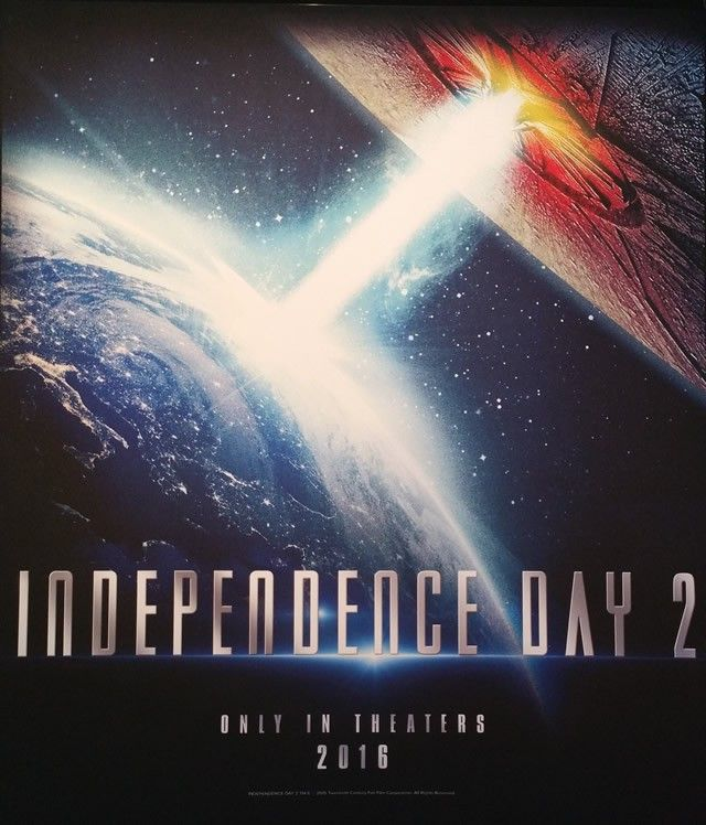 Novos Posteres Independence Day 2 Filmes Cartaz Cinema
