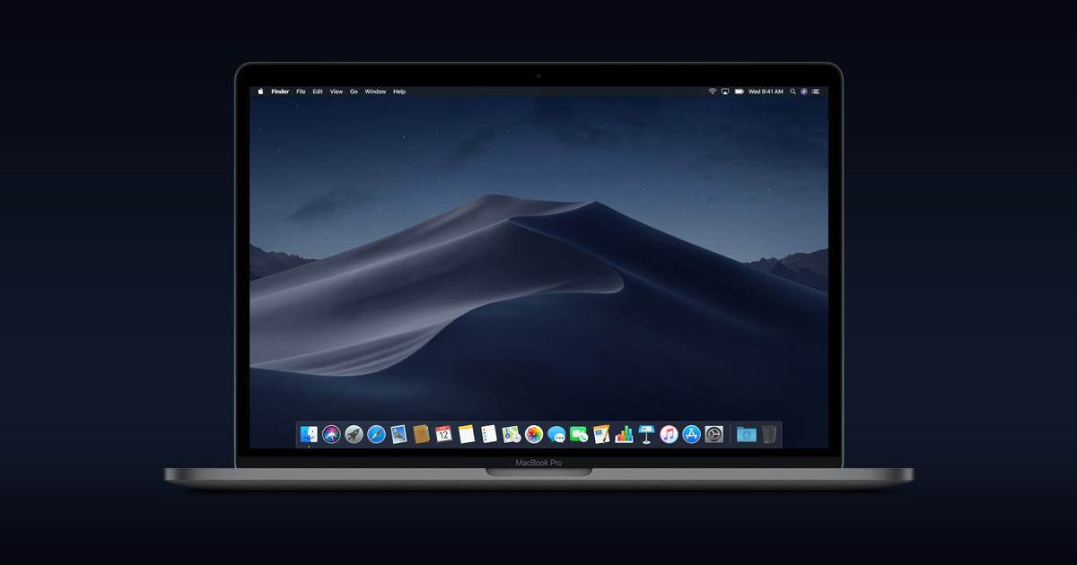 Macos Mojave Mac Os Mac Montre Apple