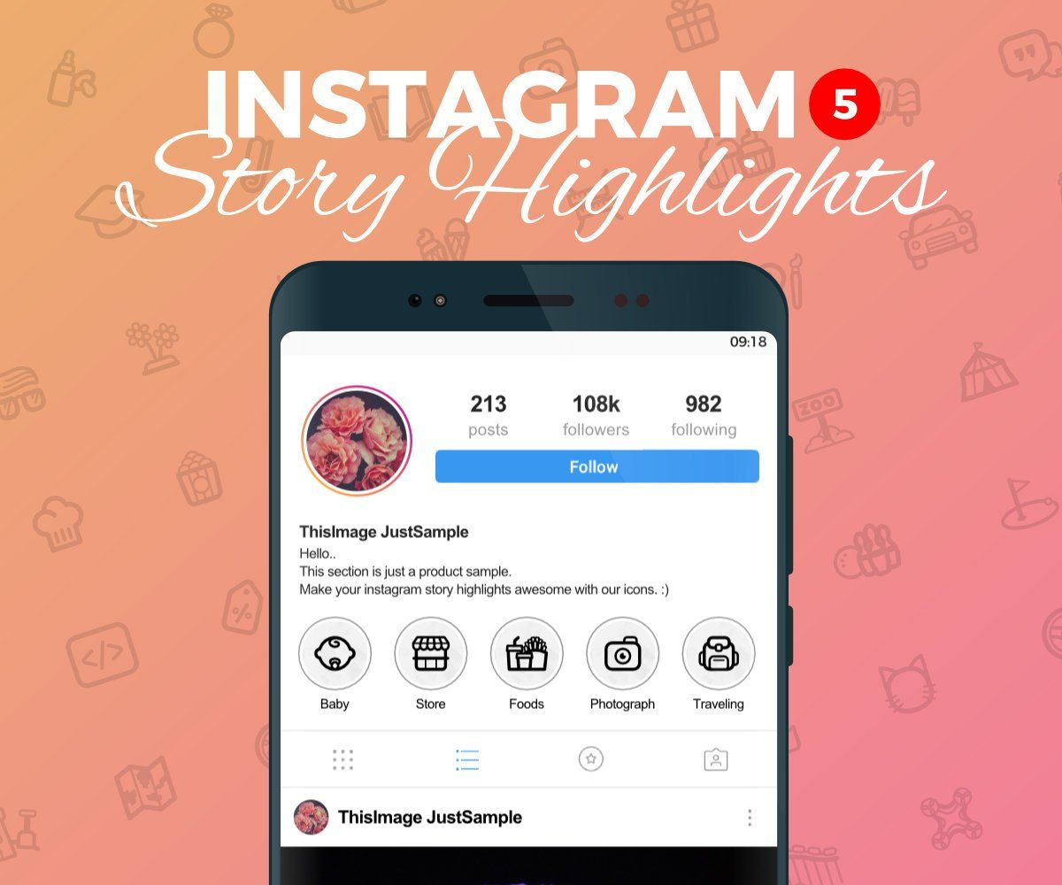 Instagram Story Highlight Icons 5