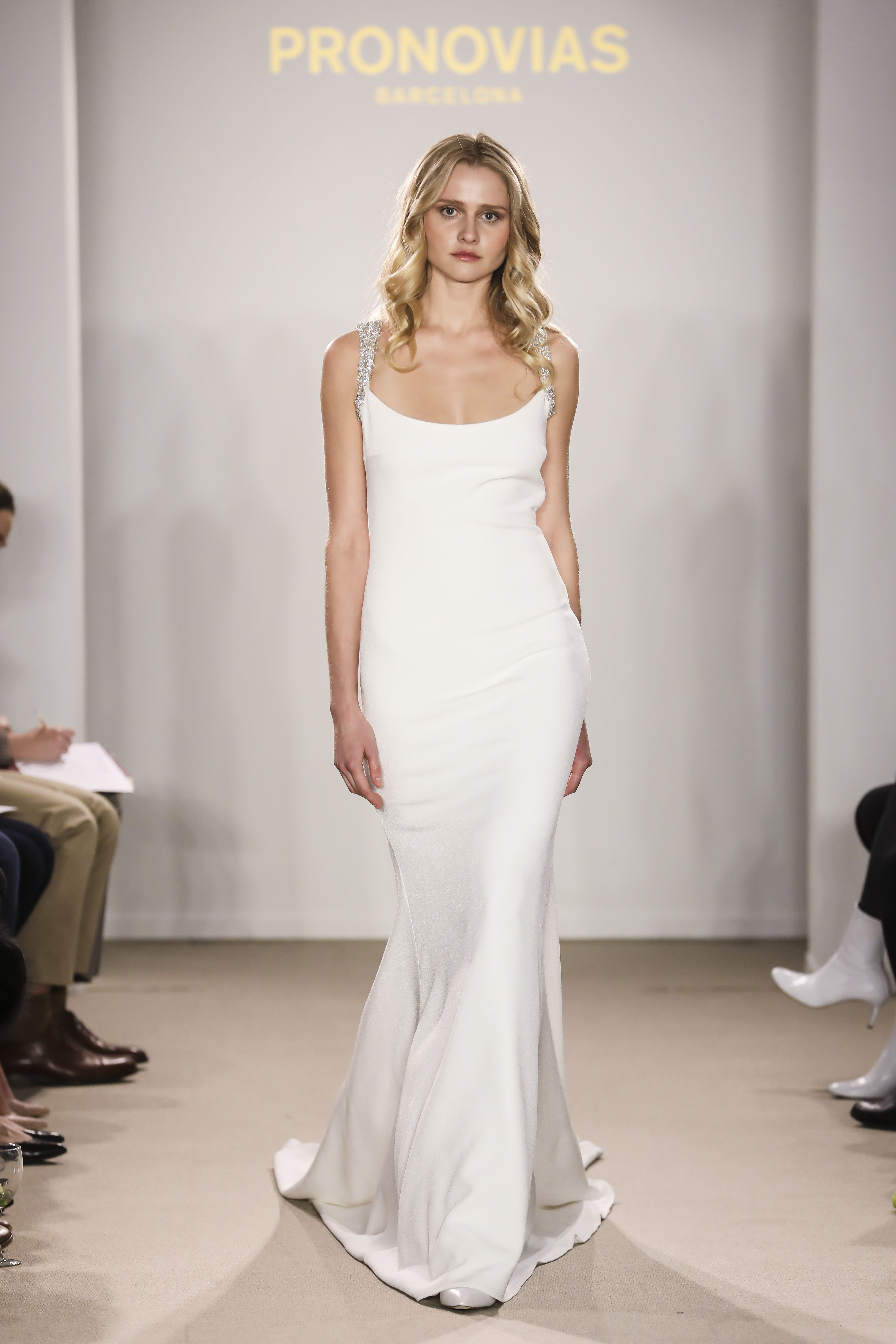 c46a02c251603 Rafia from the Atelier Pronovias 2018 Preview Collection Modern Minimalist  Wedding, Pronovias Dresses, Atelier