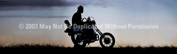 Window Graphic - 20x65 Sportster Sunset