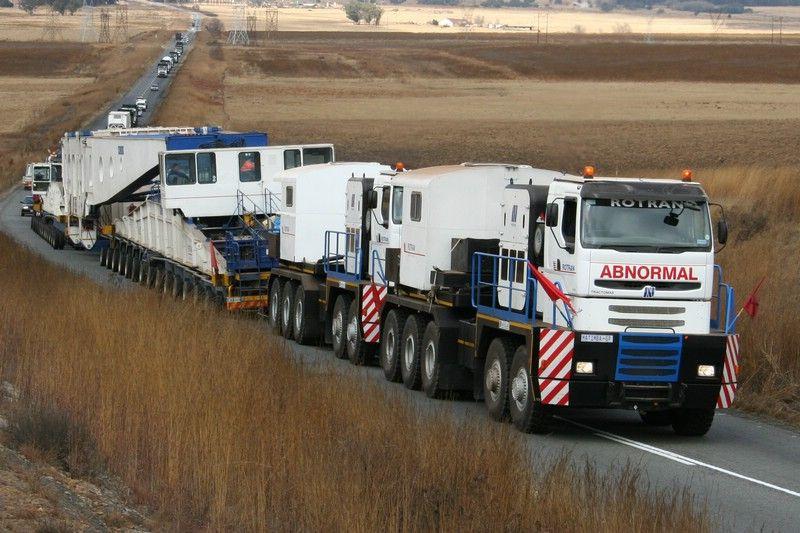 heavyhauling trucking logistics Abnormal Loads Moving
