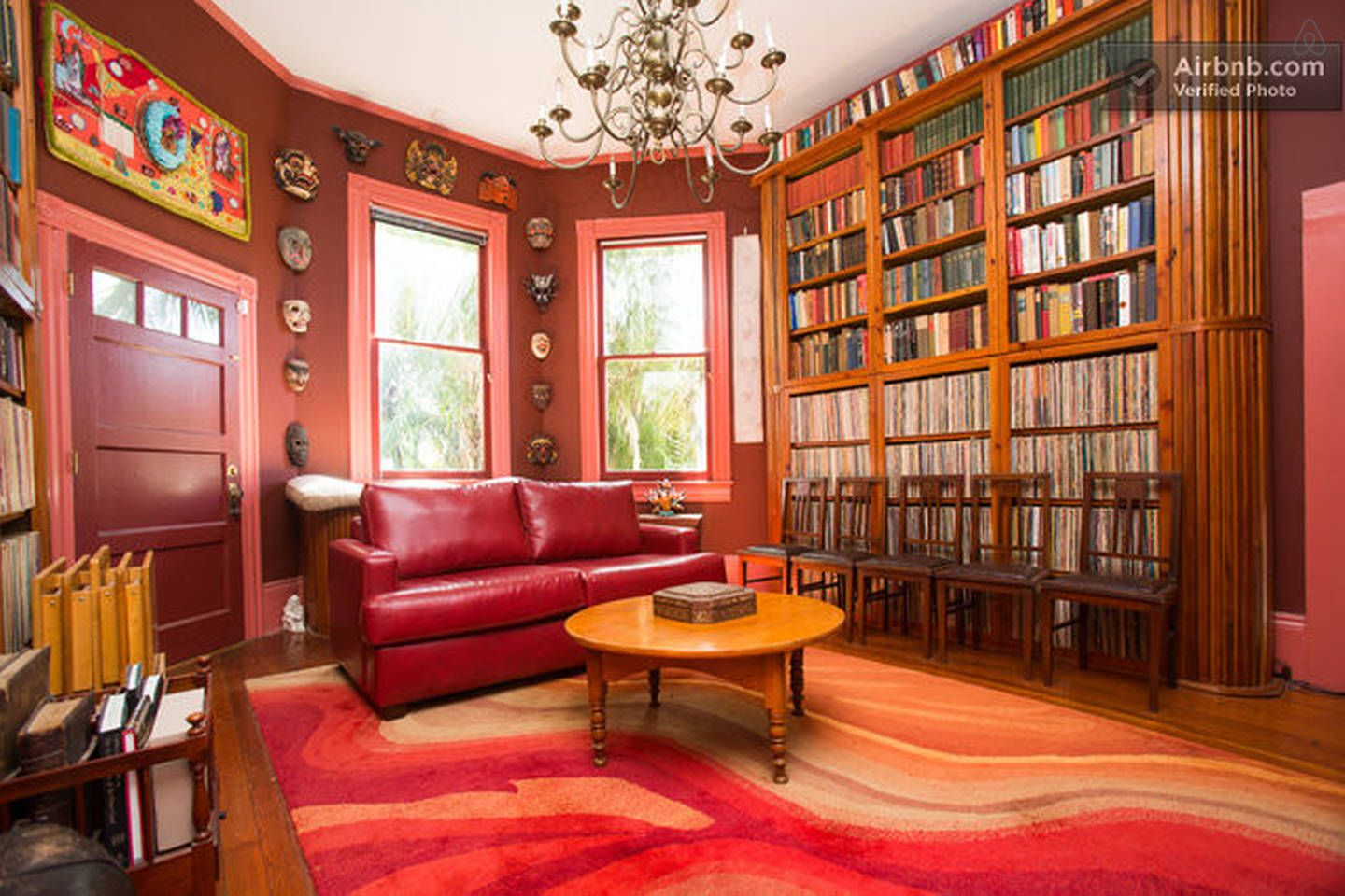 Library 2nd Floor Parks Bowman Mansion Garden District New