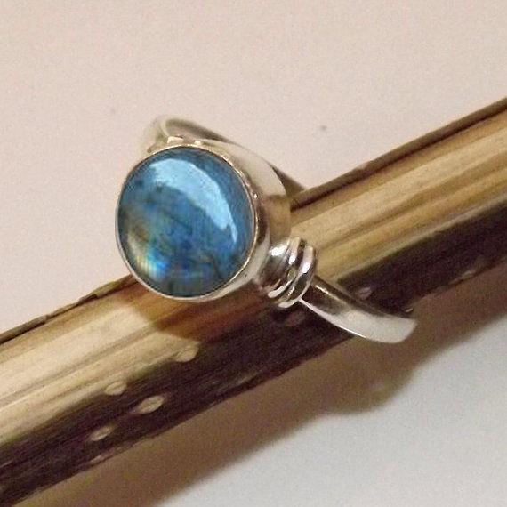 Labradorite ring,labradorite Silver Ring,Silver labradorite Ring,92.5% sterling Silver Ring, Sterling Silver Ring, size 3-12(USA Standard)