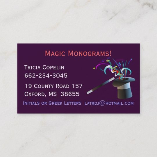 Magical Top Hat Business Cards Zazzle Com Cards Top Hat The Magicians