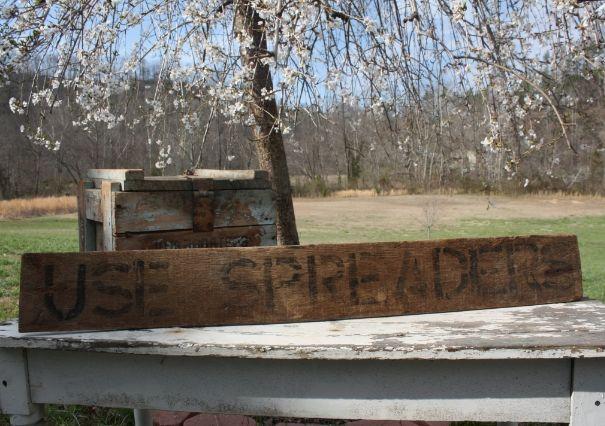 Vintage/Antique Farmhouse Wood Sign