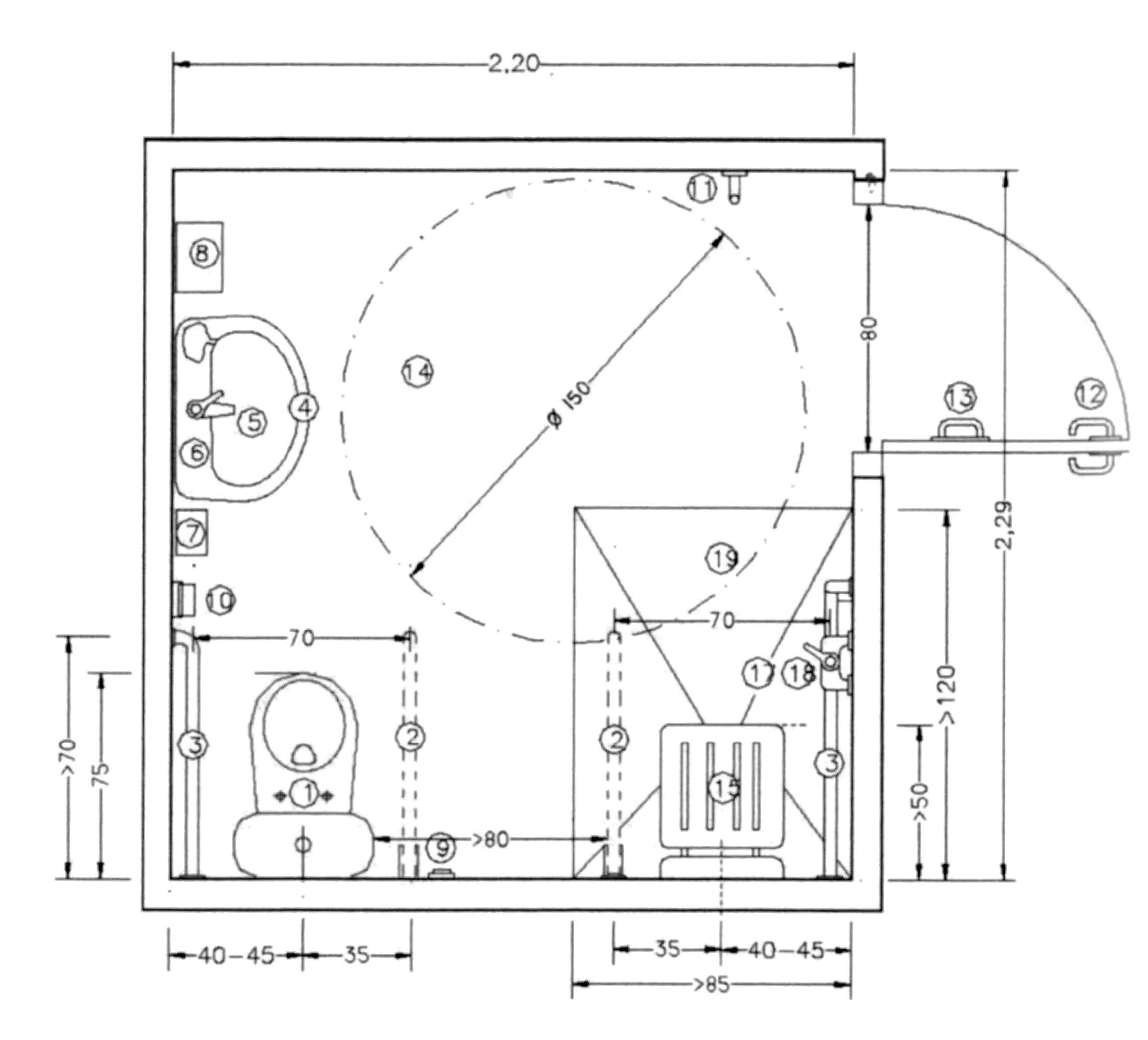 Accesibilidad integral y construcción de baños adaptados  Baño