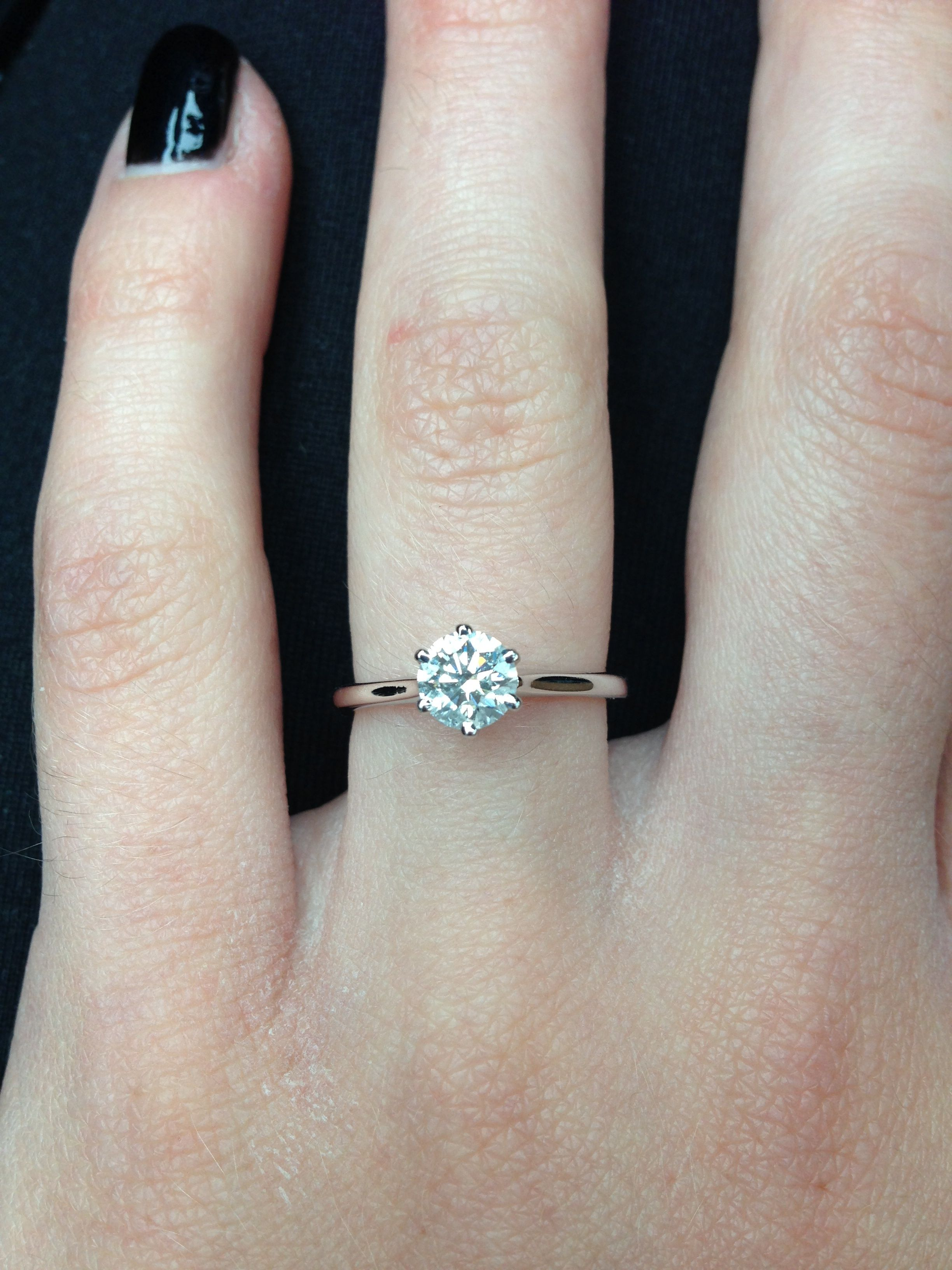Picking A Clic Engagement Ring From Blue Nile Opinions Show Me Your Pics