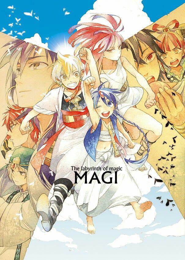 The Labyrinth Of Magic MAGI. The Tales and The Magi