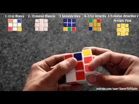 Como Resolver El Cubo De Rubik Facil Y Sencillo Paso A Paso Parte 3 Cubo Rubik Rubik Cubos