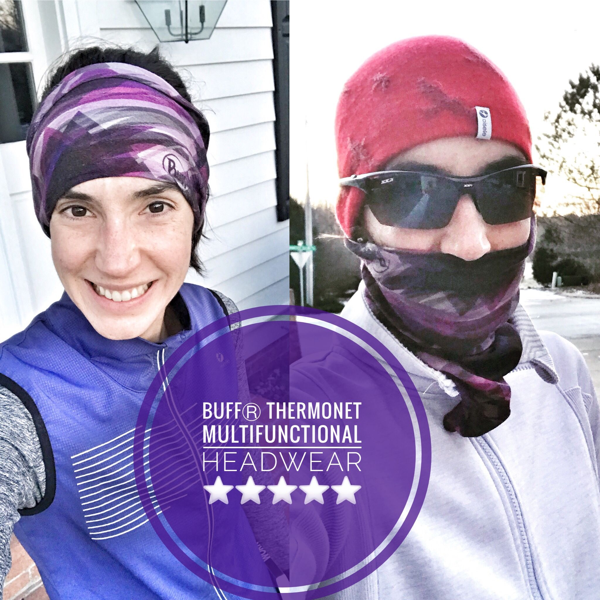 The BUFFⓇ Thermonet multifunctional headwear (in the Pantone   coloroftheyear ) is my go-to winter Running item!  bibchat  BUFF  running   bibravepro  run 4d6c816e87c