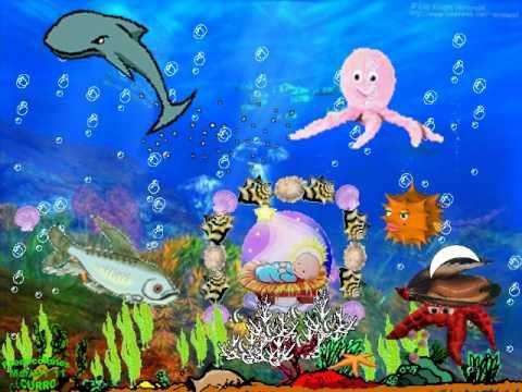 Villancico navidad en el fondo del mar