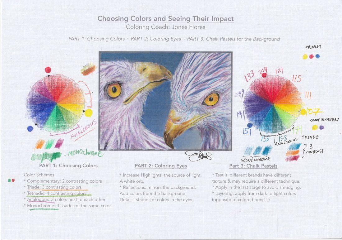 Colored Pencil Practice Worksheet