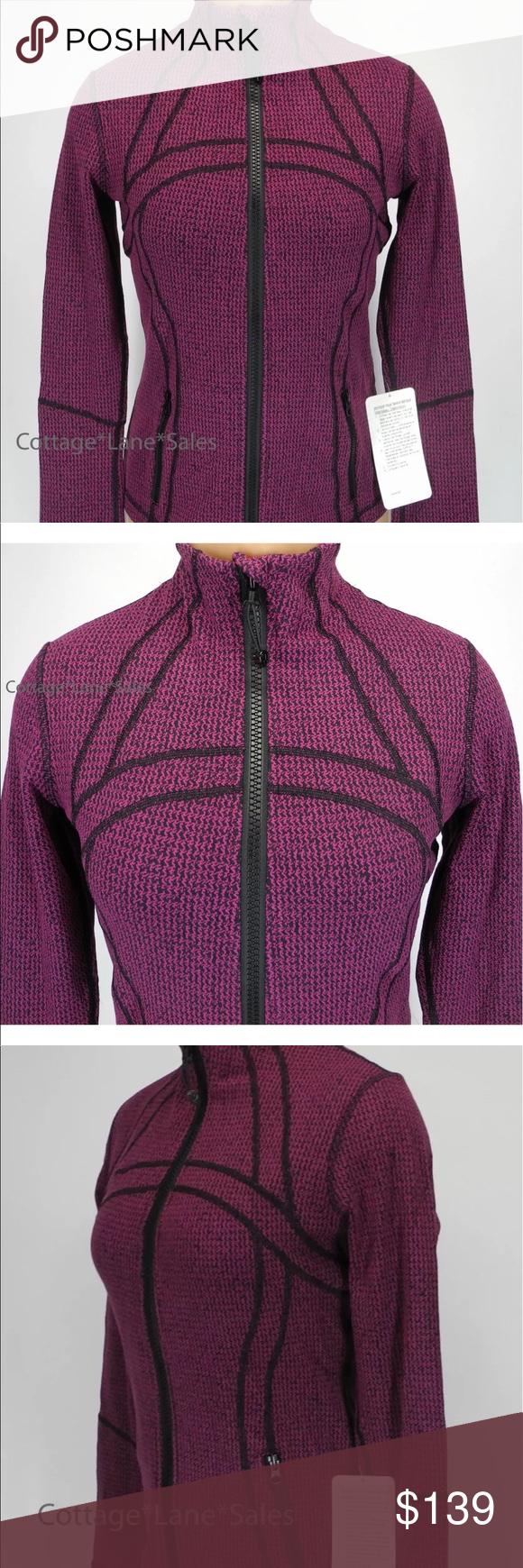 Lululemon Define Fuchsia Jacket Breathable Jacket Clothes