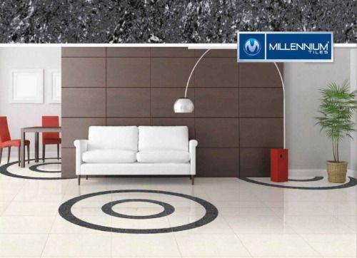 Millennium Tiles 600x600mm (24x24) Double Charge Porcelain Tiles...  Millennium Tiles 600x600mm (24x24) Double Charge Porcelain Tiles Series https://goo.gl/SW4of8 - Linear Ocean - Linear Black #interiordesign #homeimprovement #tile #realestate #tegel #carrelage #fliesen