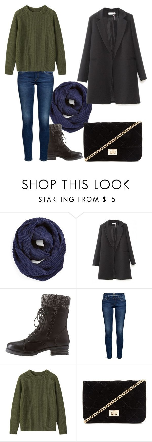 """""""Outwear#63"""" by elusiin ❤ liked on Polyvore featuring BP., WithChic, Charlotte Russe, Toast and Forever 21"""