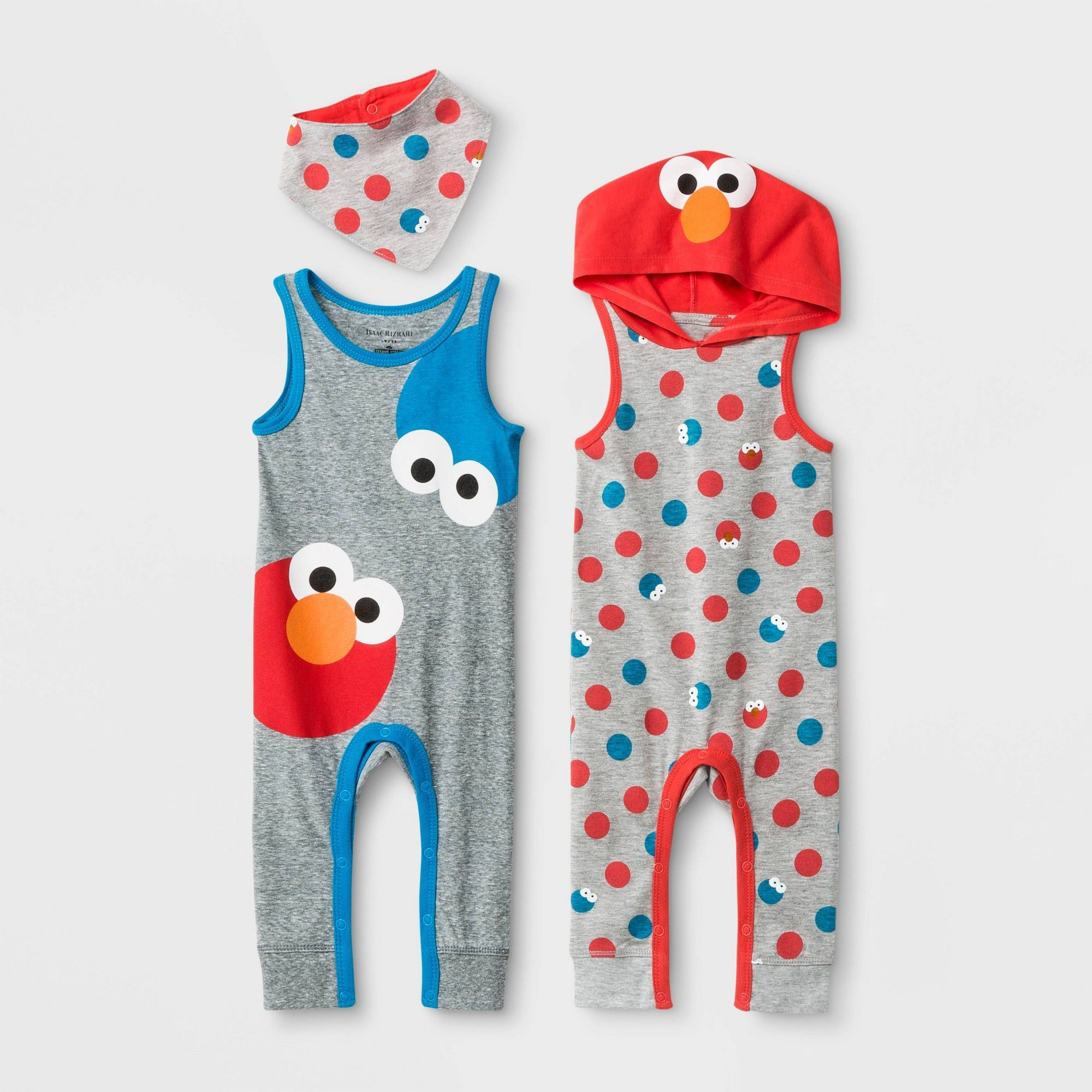 Baby Elmo Sesame Street  3 pc Bib Set   *Great Baby Shower Gift*