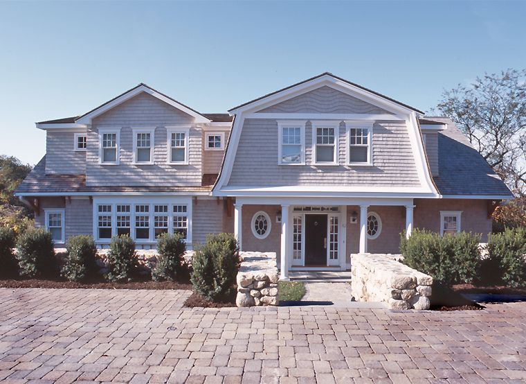 Gorgeous Home I Can T Wait To Renovate Our House Gable Roof Design Gambrel Roof House Exterior