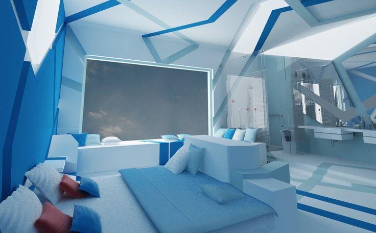 44+ Futuristic room ideas