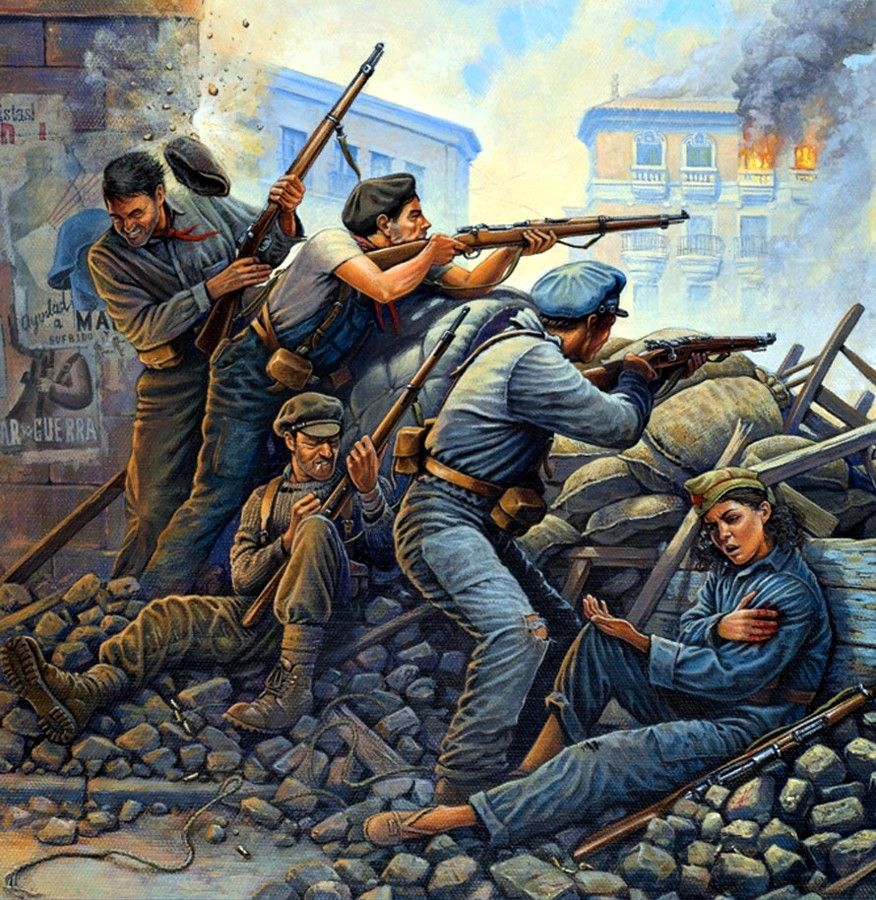 1936 Guerra Civil España - Osprey | Spanish Civil War | Pinterest ...