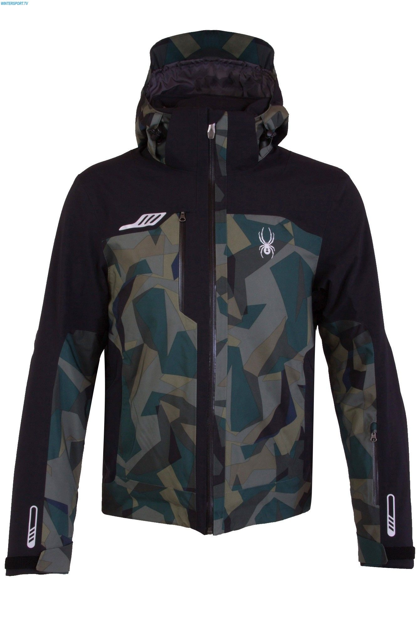 50db1e28c279 Spyder Men Whistler Jacket - Guard Camo Print