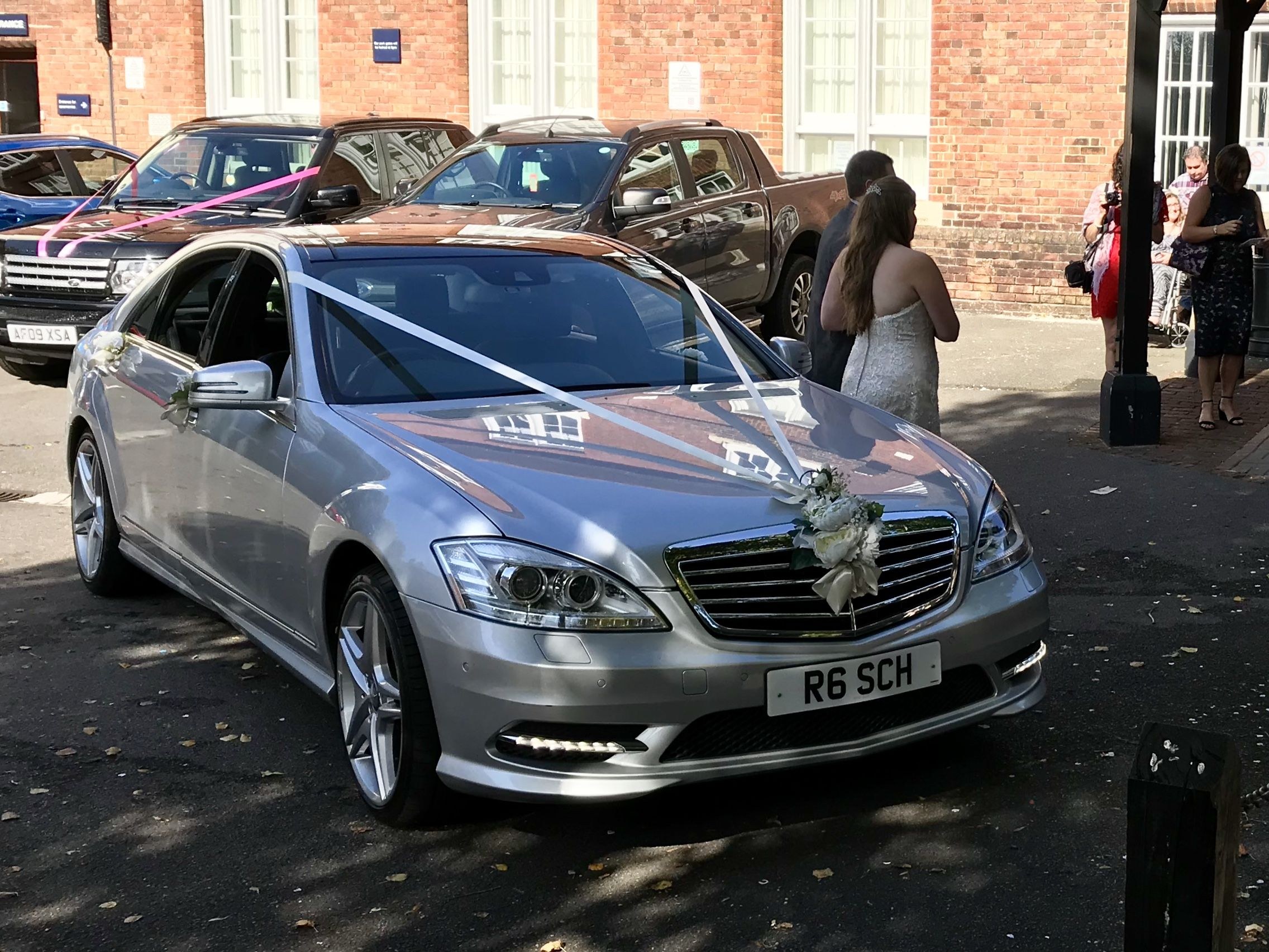 Mercedes S Class Wedding Car | Wedding Car Hire with Southampton ...