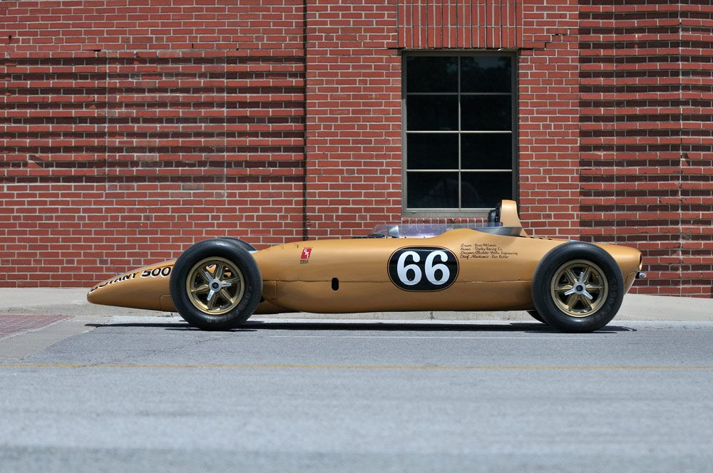 1968 Shelby Turbine Indy Car Carreras Arte