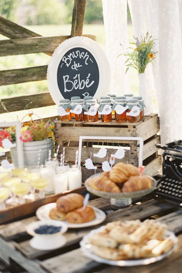 Baby Shower From Anne Robert Something Vintage Rentals Rustic