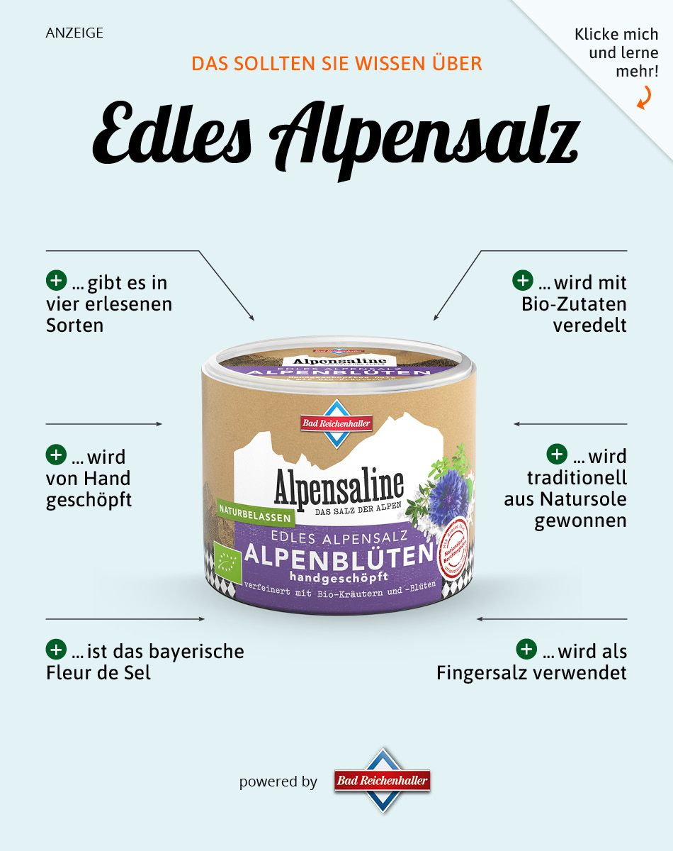 Edles Alpensalz #gezondeten