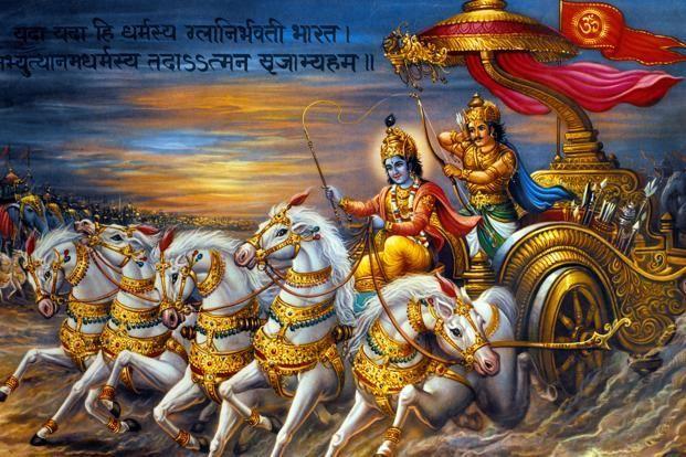 The Epic Tale Lends Itself To An Infinite Number Of Interpretations But Irawati Karve S Yuganta Could Be The Most Tho Krishna Painting The Mahabharata Krishna Download hd wallpaper krishna arjun