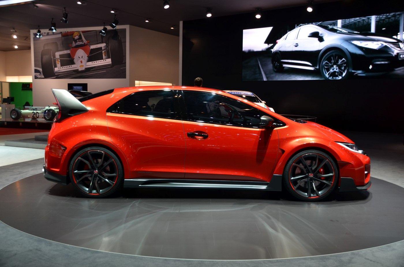 2015 Honda Civic Type R Concept Revealed In Geneva: Live Photos And ...