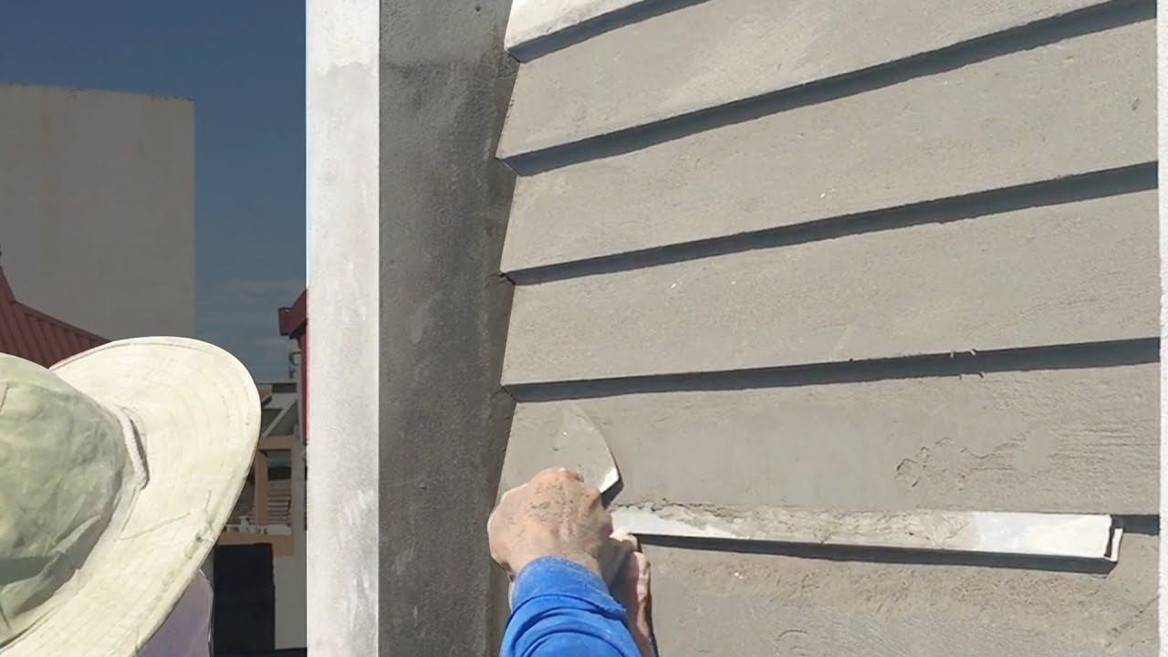 Creative Top Tips For Rendering Sand And Cement Rendering Construc Cement Render Rendered Houses Duplex House Design