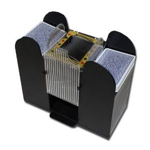 Casino 6 Deck Automatic Card Shuffler By Brybelly Order At Http Www Amazon Com Casino Deck Automatic Shuffler Brybe Bicycle Playing Cards Deck Of Cards Deck